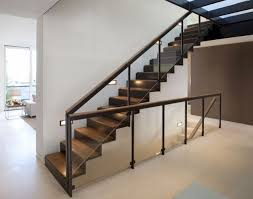 stair design contemporary stairs railing elegant glass stair railing home stair