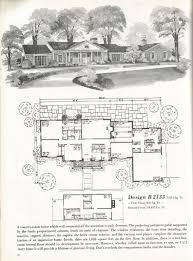 vintage house plans mid century homes luxurious vintage home