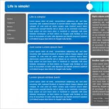 format html sed life is simple template free website templates in css html js