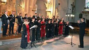 choeur de chambre le choeur de chambre kamerton en concert le 20 mars