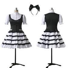 desain baju jepang maid gothic lolita degothiclolita