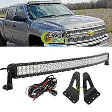Best Light Bars For Trucks Aliexpress Com Buy 50 Inch 288w Curved Off Road Led Work Light