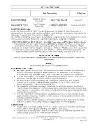 Bartender Responsibilities Resume Chic Restaurant Head Waiter Resume Sample In Waitress Cv Sample