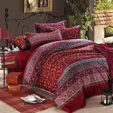 Maroon Comforter Bedding Attractive Maroon Bedding 8 Piece Lux Burnt Orange