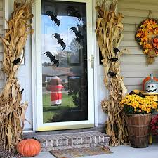 Corn Stalk Decoration Ideas These Bloggers Want To Turn Your Home Into A Fall Fantasy Land
