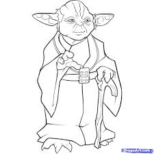coloring pages obi wan and le skywalker with yoda coloring pages