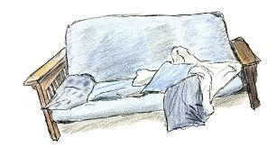 small futon modern futon most comfortable futon for small spaces