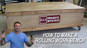 Rolling Work Benches Furnitures Using Astounding Rolling Workbench For Exciting Home