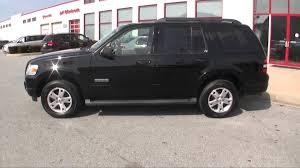 Ford Explorer All Black - 2007 ford explorer xlt black suv philadelphia pa stock