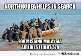 Malaysia Airlines Meme - 5 north korea helps search flight 370 meme pmslweb