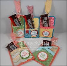chalk talk treat holders be creative stamping