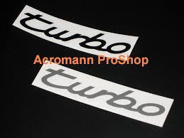 porsche turbo logo acromann online shop
