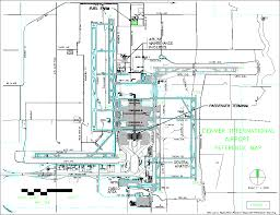 Incheon Airport Floor Plan Master Plan Denver International Airport Denver Colorado