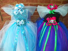 frozen dress for halloween get ready for halloween matching sibling frozen anna elsa