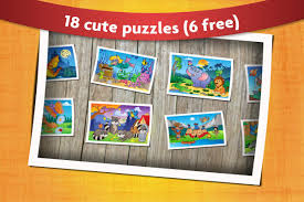 kids animals jigsaw puzzles android apps on google play