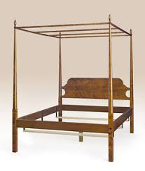 4 Post Bed Frame King King Size Shaker Style Pencil Post Bed Frame Canopy Tiger Maple