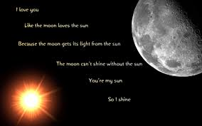 sun and moon wallpaper quotes moon and wallpaper