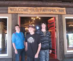 Old Faithful Inn Dining Room Menu Road Trip With Granny Granny Smith And Three Grandsons Take A