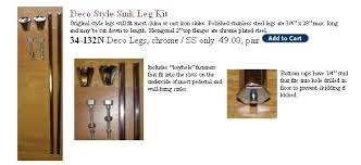 wall mount sink legs chrome sink legs and brackets for your wall mount sink from