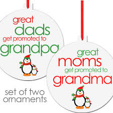 grandparent christmas ornaments and christmas ornaments set of two