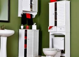 Bathroom Toilet Cabinets Bathroom Wall Cabinets Canada Space Saver Over The Toilet Cabinet