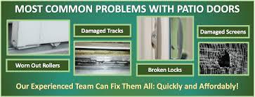 How To Fix A Patio Door Patio Door Repair Replacement Rollers Tracks West Sun City