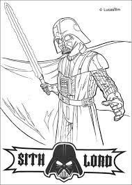 darth vader laser sword coloring pages hellokids