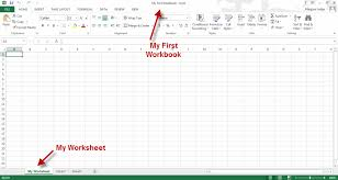 Microsoft Excel Worksheet Creating A Microsoft Excel Workbook Exercise Tutorial Webucator