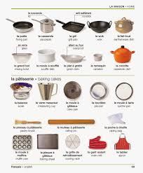 livre de cuisine fran軋ise en anglais vocabulaire dans la cuisine apprendre l anglais en 1 mois