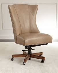 Leather Office Chair Furniture Shawnee Leather Office Chair