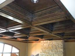 decor u0026 tips charming wood coffered ceilings with recessed