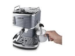 Delonghi Four Slice Toaster Buy Delonghi Scultura Ecz351bk Coffee Machine Black Scultura