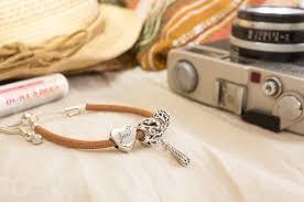 leather bracelet styles images Review pandora moments sliding leather bracelet golden tan the jpg