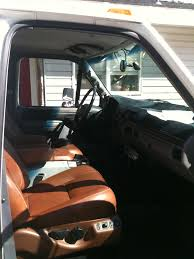 Used Ford F350 Truck Seats - leather seats in my truck wesley hansen