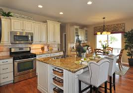 Model Home Pictures Interior Observatory Village Washington Model Home Traditional Kitchen
