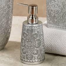 Bathroom Accessories Colette Silver Bath Accessories By J Queen New York