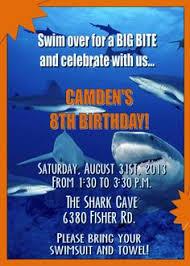 shark birthday invitations pool party invitations 427 use