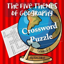 5 themes of geography acronym five themes of geography worksheet teaching resources teachers pay