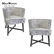 French Script Armchair Wooden Frame Tub Chair Wooden Frame Tub Chair Suppliers And