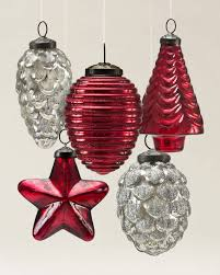 mercury glass ornaments balsam hill
