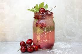 cherry lime mojito beautiful booze