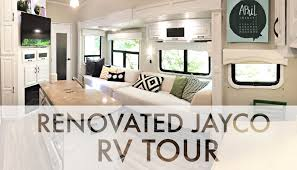 Rv Renovation by Renovated 2015 Jayco Rv Tour Rv Fulltime W 9 Kids Youtube