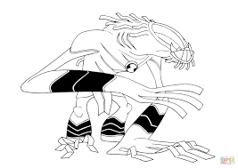 ben 10 wildmutt coloring page free printable coloring pages