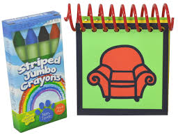 blue u0027s clues handy dandy notebook with box of 4 crayons