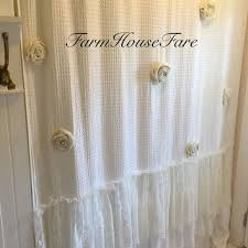 Country Chic Shower Curtains Shop Shabby Chic Shower Curtains On Wanelo