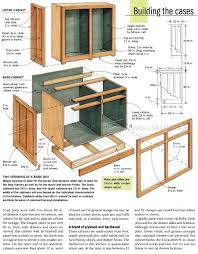 how to build kitchen cabinets diy 632 kitchen cabinets plans furniture plans and projects