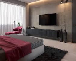 meuble tv chambre a coucher chambre grise cosy 6 visualisations à découvrir pour trouver l