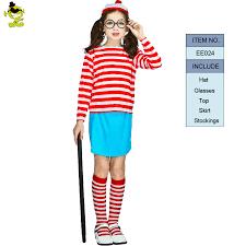 where s waldo costume 2017 where s waldo now white stripes costume kids