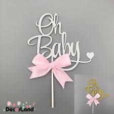 baby shower cake toppers girl baby cake topper ebay