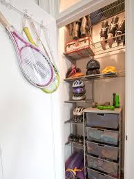 in closet storage tips for organizing a small reach in closet hgtv s decorating